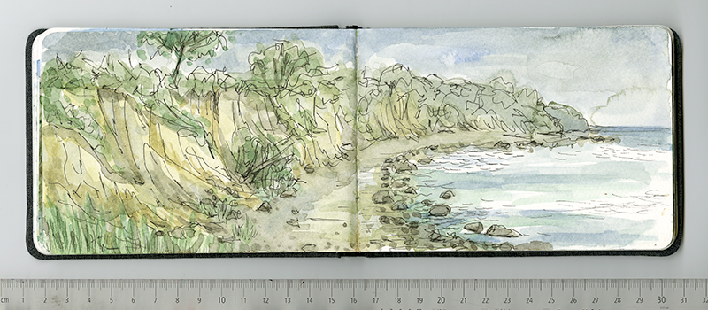 Skizzenbuch, Reiseskizzen, Sketchbook, Travelbook